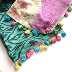 カンタ刺繍のストール