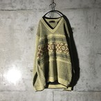[used] mosgreen designed knit