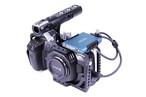 Lanparte社・BMPCC4K-C・BMPCC4Kカメラ用フルケージシステム、SAMSUNG SSD T5装着クランプ付