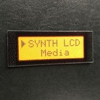 【ネームプレート】液晶LCD・ネームプレート/オレンジ