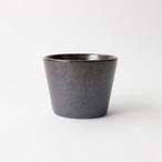 【SL0052】磁器 そば猪口 赤茶
