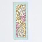 Art  【Plumeria Lei / Mint green frame】