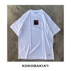 半袖Tシャツ 花イラスト ホワイト メンズ レディース かわいい イラスト ロゴ デザイン #ロックファッション #ストリートファッション