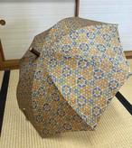 日傘(タッサーシルク・古渡更紗)