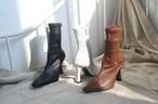 ミドルハイソックスブーツ ソックスブーツ ブーツ 韓国ファッション