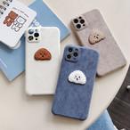Plush bear iphone case