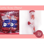 【Little Rose Planet】Crystal Goldfish 金魚柄シースルーソックス(RED)