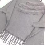 ポンチョ レディース 暖かい 秋冬 新しい ゆったり ニット セーター タッセル T110139006