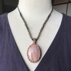 アゲート / 天然石*マクラメ編みネックレス