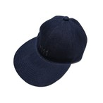 DENIM REPELLENT CAP BW-803  BLACK EMBROIDERY