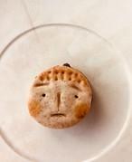 ニコニコ坊やのチョコサンドクッキー 国産小麦 vegan (4個入り)