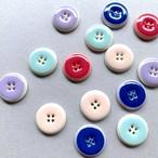 4つ穴のカラーフランスボタン