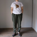 R&D.M.Co-/OLDMAN'S TAILOR オールドマンズテーラー OVER WEIGHT T shirts white