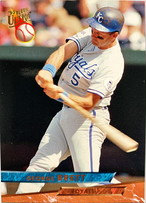 MLBカード 93FLEER George Brett #206 ROYALS