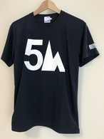 hs-24 ACTIVE 『5TH』 T-SHIRT ・ネイビー