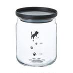 【猫柄】足あとキャニスターM【保存容器 肉球】