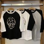 オリジナルベースボールTシャツ「ハコガメ」(七分袖)