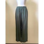 【hippiness】cupro easy pants (green) /【ヒッピネス】キュプラ イージーパンツ(グリーン)
