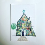 ポストカード「言葉の教会」