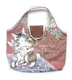アートエコバッグ うさぎの赤ちゃん わちふぃーるど 猫のダヤン