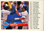 MLBカード 93DONRUSS CHKLIST #132