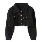 Mini Length Denim Jacket