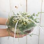 野花のリングピロー【ナチュラルウエディング】完成品