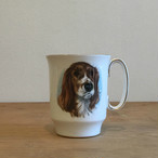 ROYAL WINDSOR Dogキャバリアプリントマグカップ