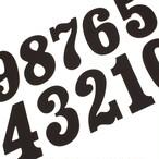"J/GPMC  7"" RACE NUMBER (GP) – BLACK"