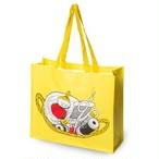 【フィンランド】 ムーミン ショッピングバッグ(リトルミイ イン バスケット) トートバッグ エコバッグ