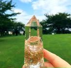 【Sale】水晶ポイント型オルゴナイト・3【Sサイズ・10㎝】