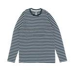 AS Colour ボーダー L/S Tシャツ (NAVY)