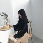 【新作10%off】lace feminine knit sweater 2865