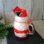 【white*ham】 i10-№008 『イチゴのジャーケーキのメモスタンド』
