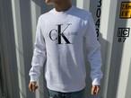 """【海外買い付け】Calvin Klein """"CK""""スウェット(white)"""