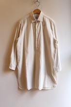 YAECA/ヤエカ ボタンシャツ プルオーバー ロング L.BEIGE #99103 レディース