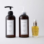 IJK LUXURY CARE Shampoo500ml、Treatment 480g、HairCareOil  各1SET