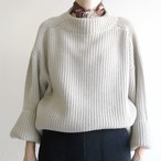 Yangany  【 womens 】aze big p/o knit