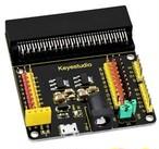 micro:bitで5Vのセンサーが使えるセンサーシールドV2(Keyestudio製)