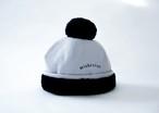 【20aw】ミチリコ(michirico) ponpon mocomoco CAP【ライトグレー】 キャップ