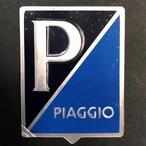 Vespa PIAGGIO エンブレム プレート アルミ製