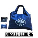 エコバッグ SIMCLEAR BIGSIZE ECOBAG(ブラック/ネイビー)