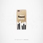 """Sweet Home"" グリッターiPhoneケース[ゴールド]"