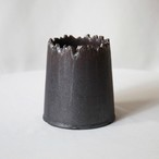 Roughness Black Rupture Cylinder pot(MEDIUM)