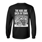 "【受注生産】""THE KIDS ARE BACK IN TOWN"" L/S Tee BLACK"