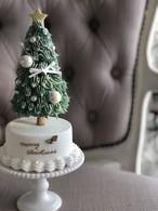 ★簡単可愛いクリスマスツリー(動画レッスンキット付)