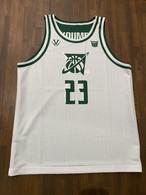 【デザインサンプル】川内GREENBACKS(U12・男子)リバーシブルシャツ