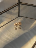 UCE-26G Eternal Circle Stud Earrings S