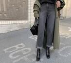 ワイドフィットデニム デニム デニムパンツ ジーンズ 韓国ファッション