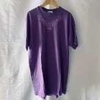 Vintage T-shirts _11(ユーズド Tシャツ パープル お花 刺繍)